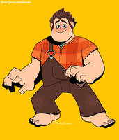 Wreck-It Ralph! by DrewGreen