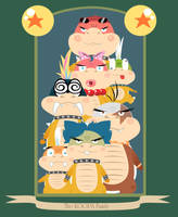 The Koopa Family by DrewGreen