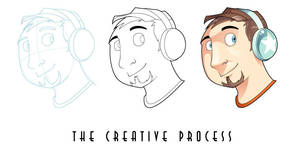 The Creative Process by DrewGreen