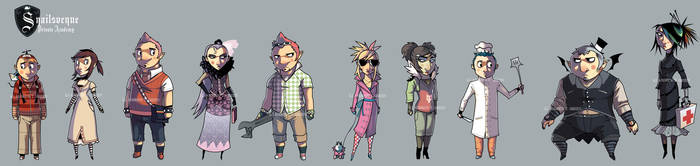 The Snailsvenue Lineup by DrewGreen