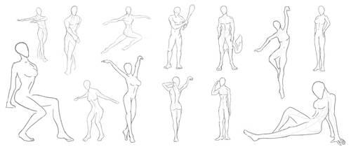 Figure Study 1 by N-Deed