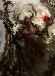 Red Fury by N-Deed