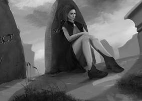 Commission: At Dill's Grave by N-Deed