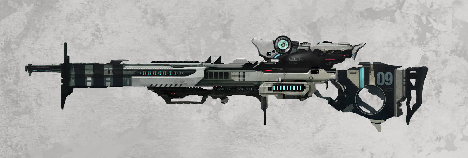 TH-50 SPECTRE Sniper Rifle by N-Deed