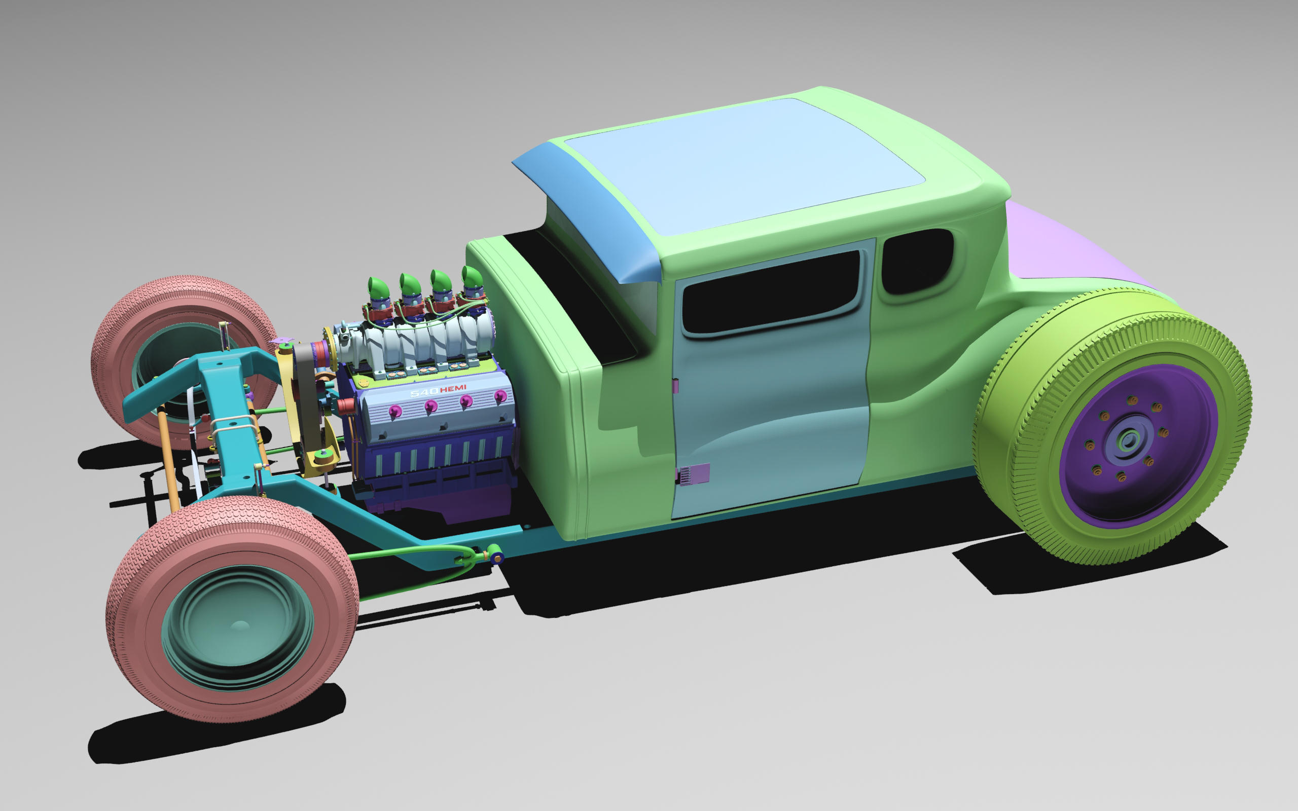 Rat Rod WIP by NDeed by N-Deed