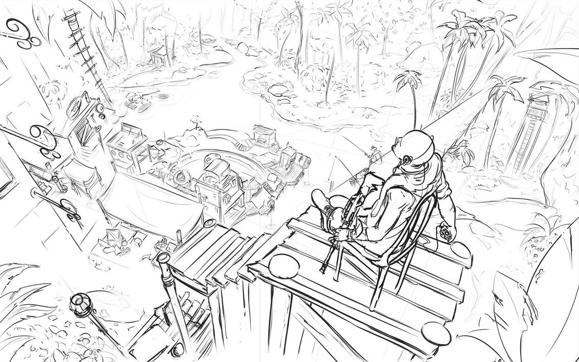 Jungle Village by N-Deed