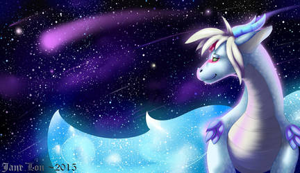 {YCH} Let Her Watch The StarFall by JaneLon