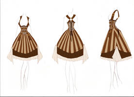 +Steampunk Lolita Design+ by DeadlyDie