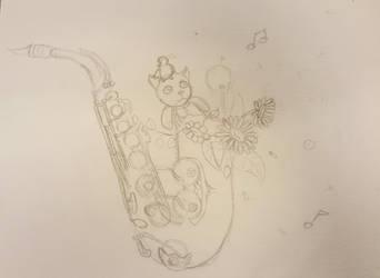 sketch by PeneMuse