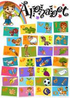 alphabet by nabillll