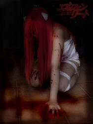 elfen lied cosplay by Sally-hiou