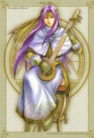 Golden Fantasy-Bard MU by uuyly