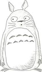 Totoro Waits by cddmanful