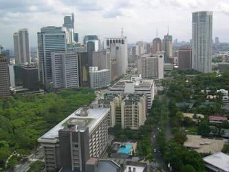 Makati Shangri La Hotel View by i2ednezumi
