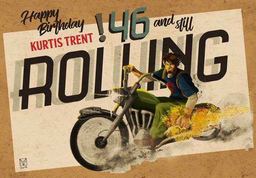 Happy Birthday Kurtis Trent by Hydraballista
