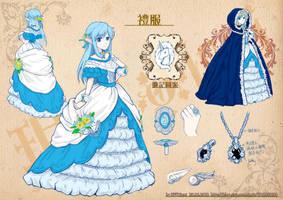 Formal dress by Jinnimala