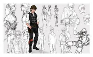 Character Development - Darac by tinkerbelcky