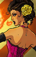 Sideshow Girls - The Fire Breather by tinkerbelcky