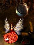 He Kept A Fallen Angel Deep by xyldrae
