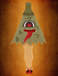 Kasa-obake(contest entry) by AnAnimationNation
