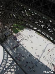 Eiffel Tower by Paintluk