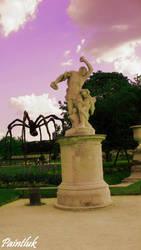 Park in Paris by Paintluk