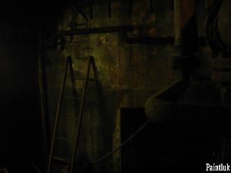 Ladder at cellar 2 by Paintluk