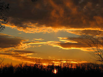 nice sunset by DisneyPrincessNeeNee
