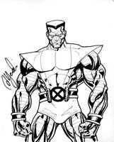 Colossus Con Sketch by davidyardin