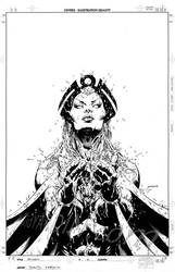 X-Men: World's Apart 2 Inks by davidyardin