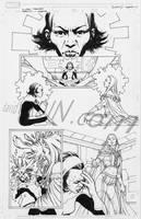 X-Men Manifest Destiny Karma 1 by davidyardin