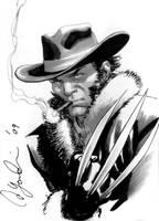 Logan Con Sketch by davidyardin