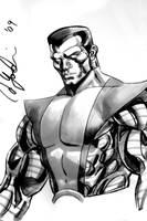 Colossus Con Sketch 2 by davidyardin