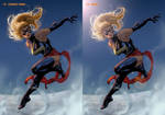 Ms Marvel Steps 12 + 13 by davidyardin