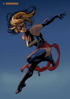 Ms Marvel Step 5 by davidyardin