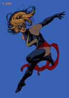 Ms Marvel Step 4 by davidyardin
