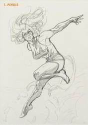 Ms Marvel Step 1 by davidyardin