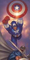 Avengers The Initiative 34 cov by davidyardin