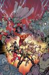 New Avengers Final Variant by davidyardin