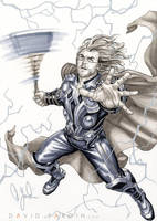 Avengers Movie Thor by davidyardin