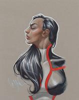 Peter David Art Auction - Monet M St Croix by davidyardin