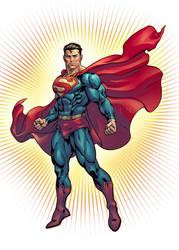 Superman by davidyardin