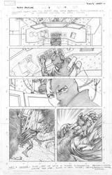 Black Panther 8 p19 by davidyardin