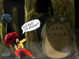 Totoro and me by SpliffmanCometh