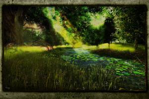 Alirium's Forest Stream by ToysoldierThor
