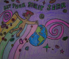 Let Your Spirit Soar by CaldoRosa