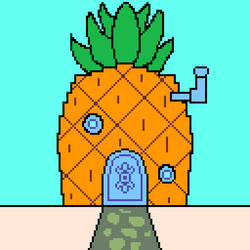 A Pineapple Under The Sea by CaldoRosa