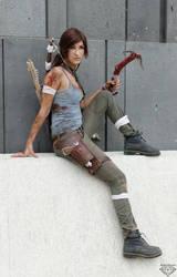 Lara Croft by BlueBlackDiamond