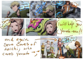 My opinion of Digimon tri ova 1 (Mimato) by elyrosas