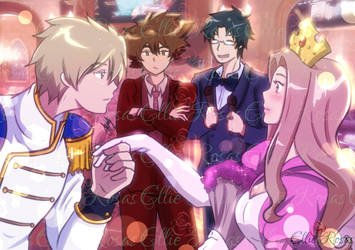 The Princess and Prince of Music by elyrosas